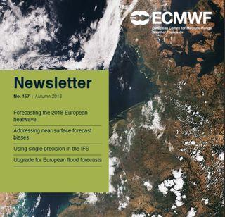 Boletín No. 157 - Otoño 2018 del ECMWF