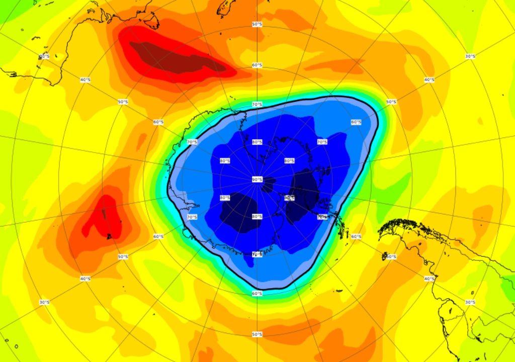 Buraco camada de ozônio 2021