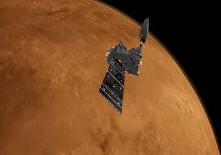 Buscaban metano en Marte, y encontraron dióxido de carbono y ozono