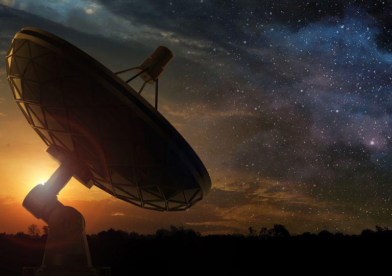 Señales de radio intergalácticas