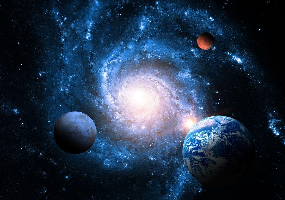 Los astrónomos creen que llega a la Tierra desde una región alejada de la Vía Láctea donde se forma una galaxia espiral
