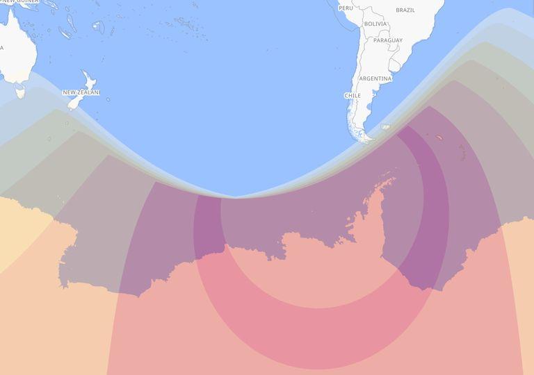 Eclipse de Sol Antártida 2021