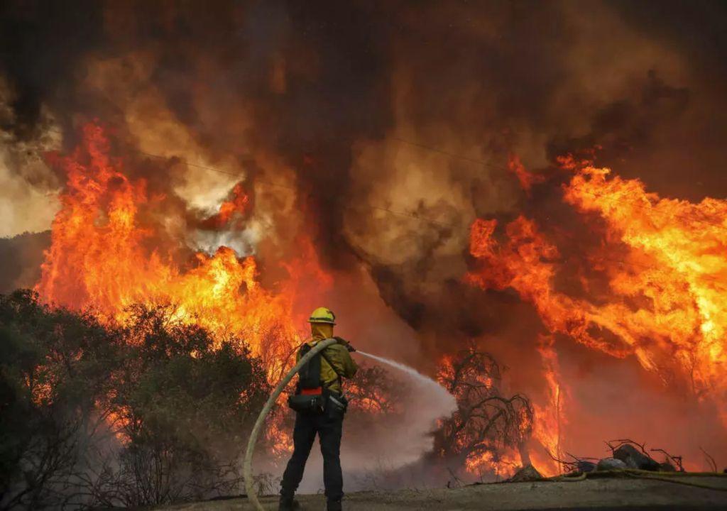 Incendios forestales California Los Angeles