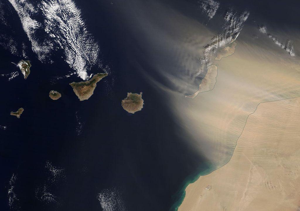 Calima en Canarias: última hora, qué es y sus efectos en la salud
