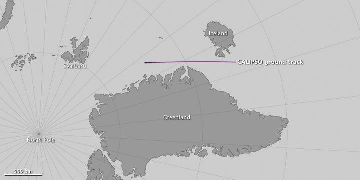 Calipso Espía Las Nubes Estratosféricas Polares