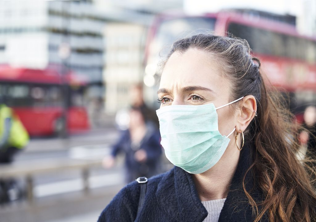 Coronavirus in London.