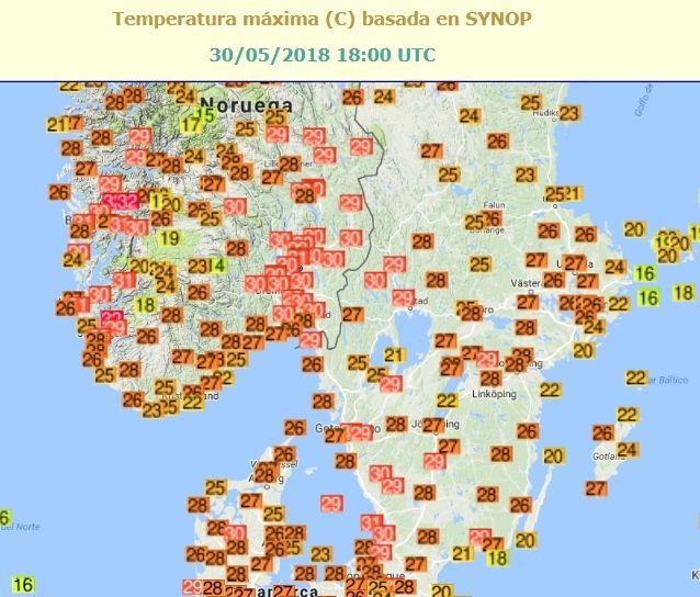 Calor Histórico En Escandinavia
