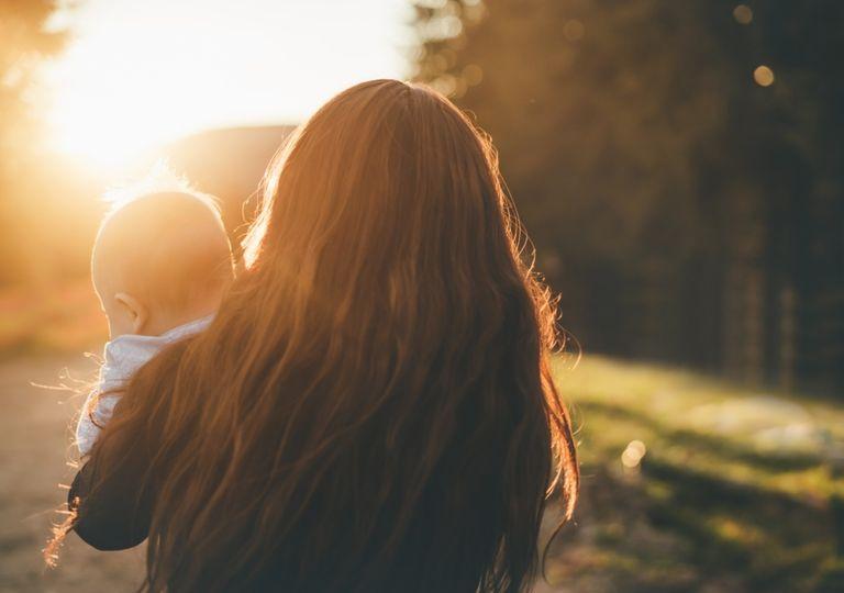 Día de la madre mamá calor tormentas