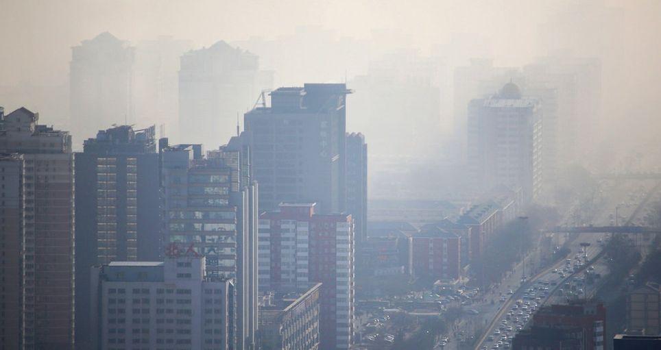 Polucion Beijing China