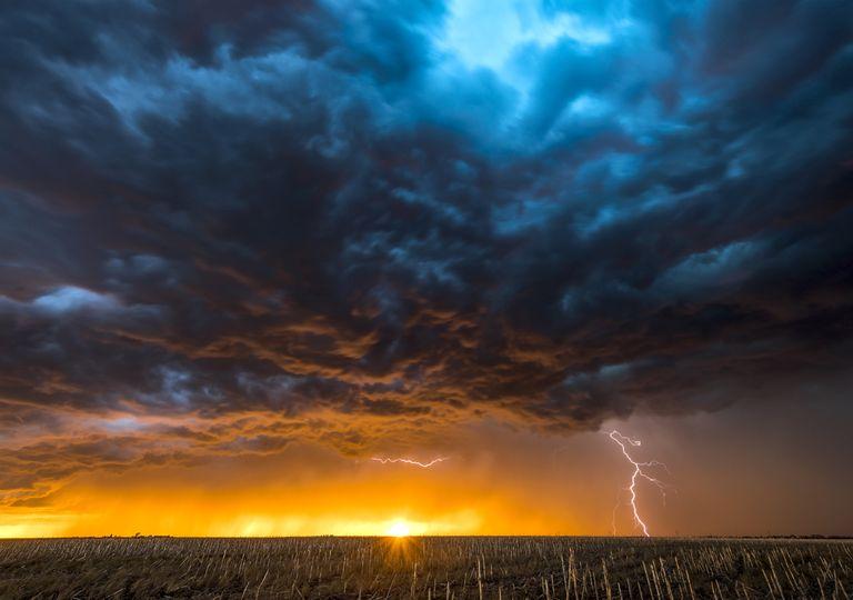Febrero tiempo Clima Pronóstico alerta tormentas