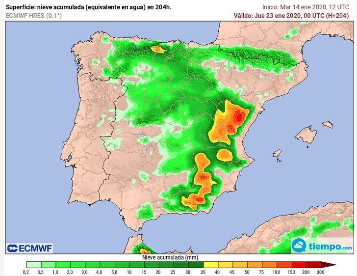 Mapa De Tiempo Espana.Cambio Radical Del Tiempo En Espana Por Que