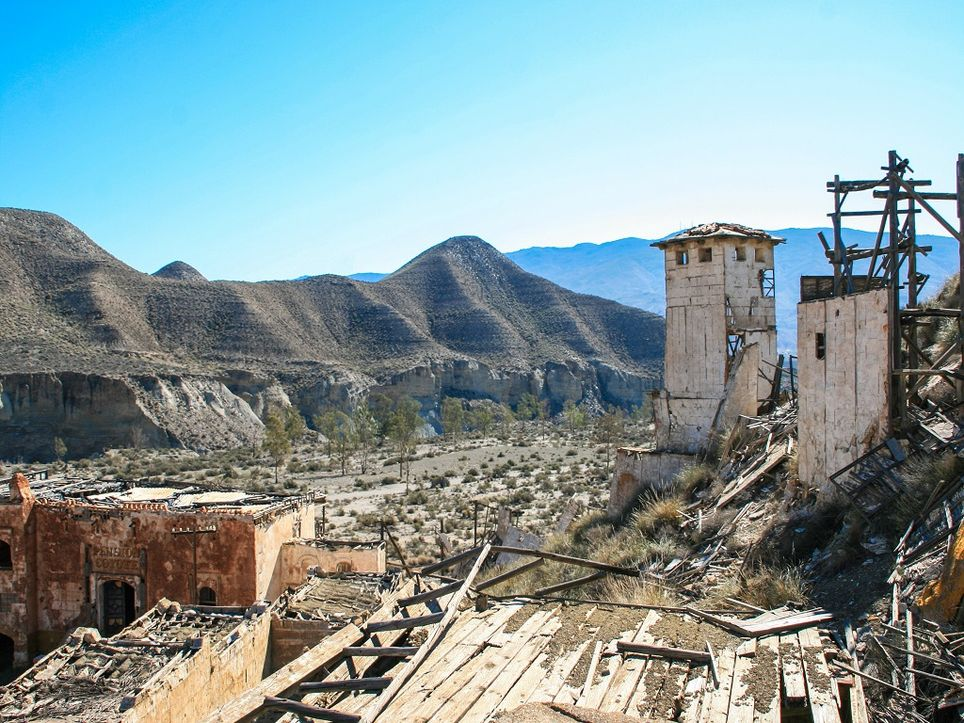 Deiserto de Tabernas, Almería.