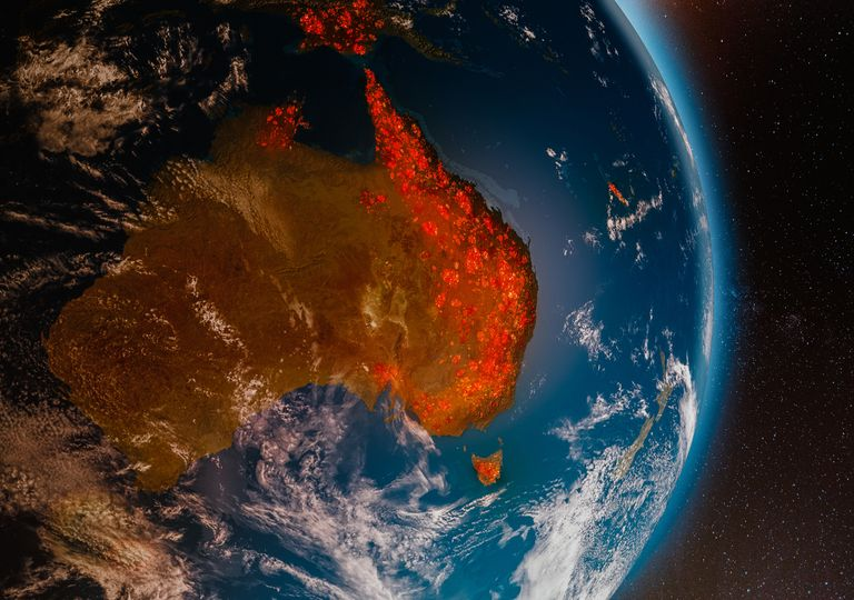 Calentamiento global cambio climático temperaturas récord ola de calor incendios