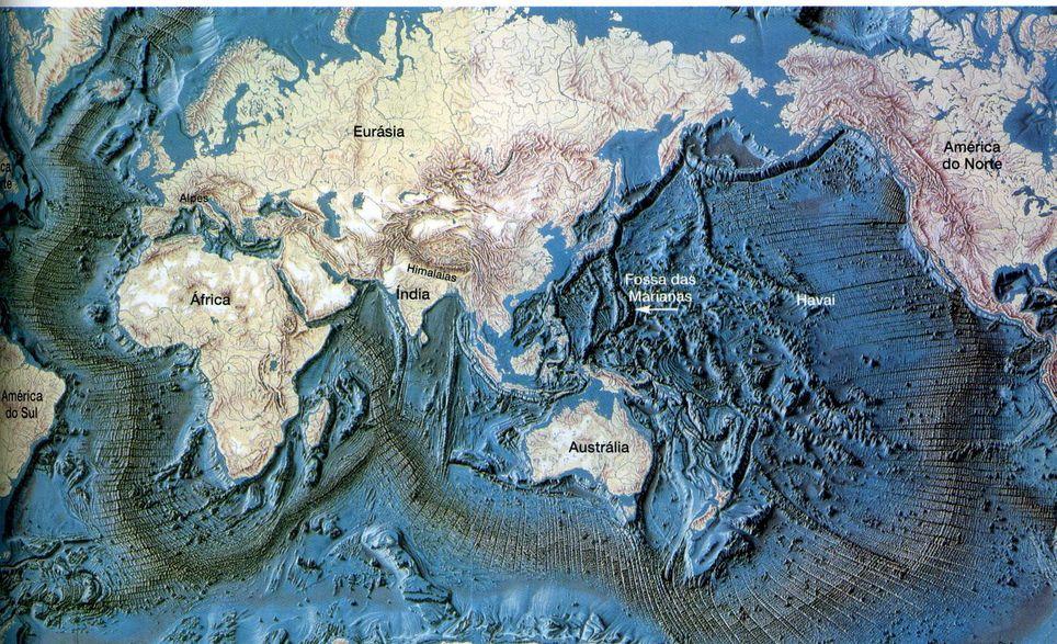 Las fosas marinas podrían contener gran cantidad de carbono. Imagen sólo para ilustración