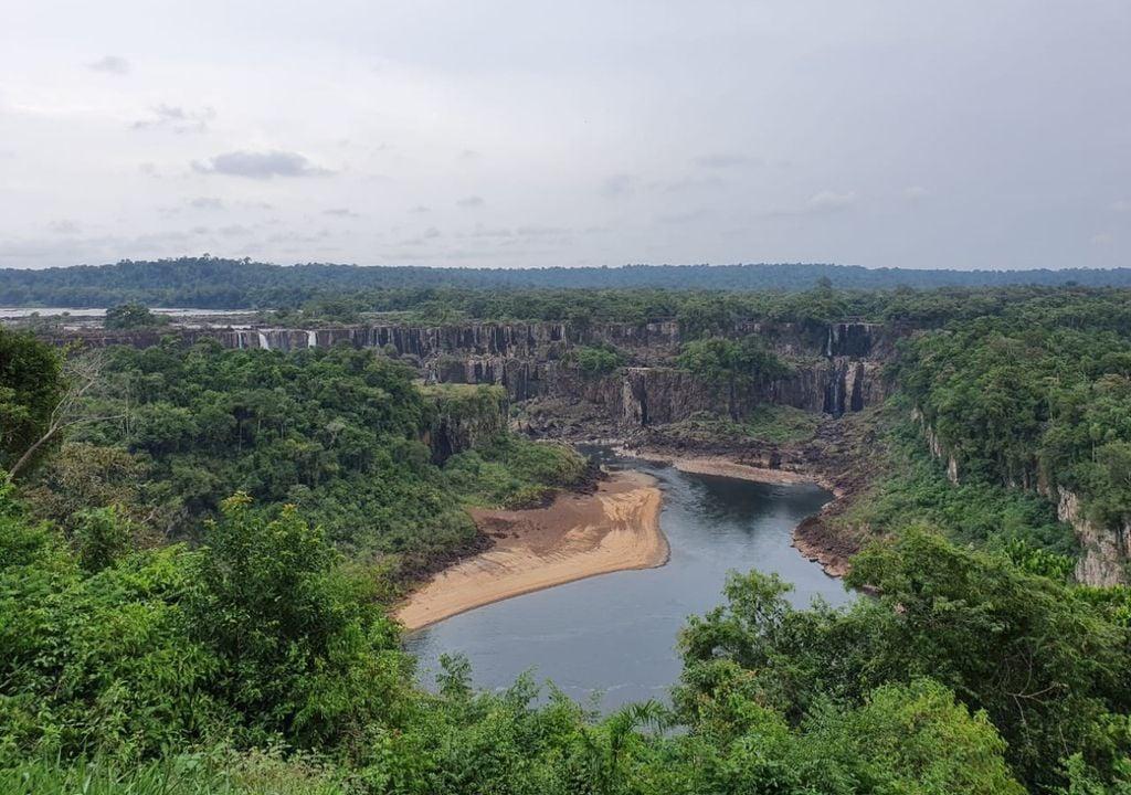 Seca Cataratas do Iguaçu
