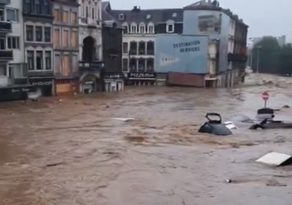 Catastrophic floods in Germany and Belgium: here are the videos
