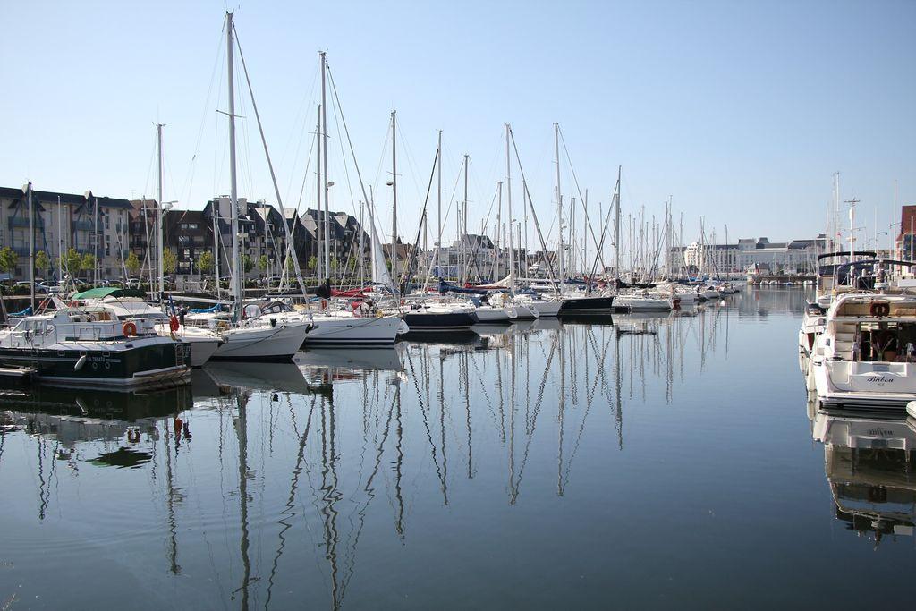 Beau soleil et températures agréables en Normandie.