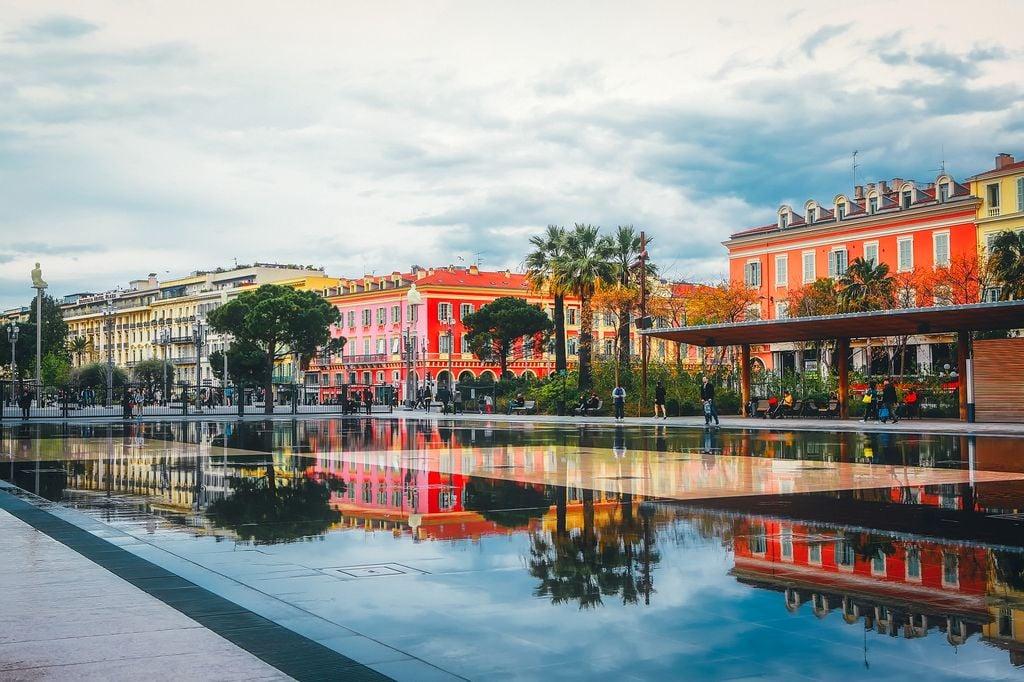 Le soleil sera plus généreux dans le sud-est dimanche, notamment ici à Nice.
