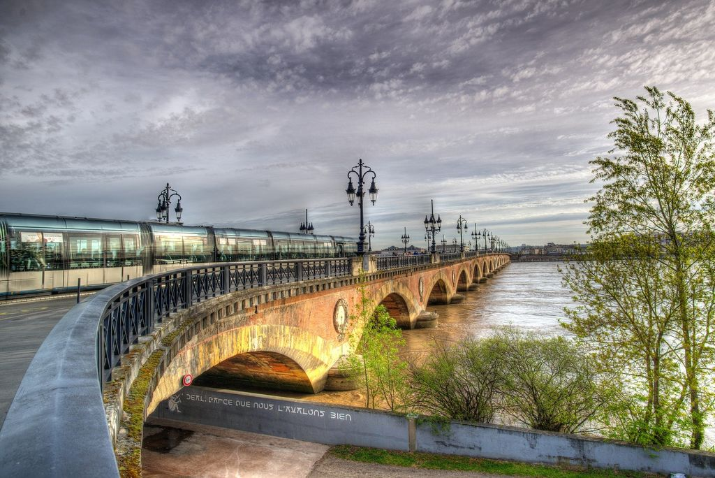Le temps restera perturbé à Bordeaux tout le week-end.