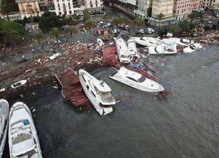 Cerca de 30 muertos y varios desaparecidos en Italia por un fuerte temporal mediterráneo