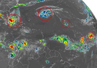 Chegamos ao pico da temporada de furacões com seis tempestades ativas
