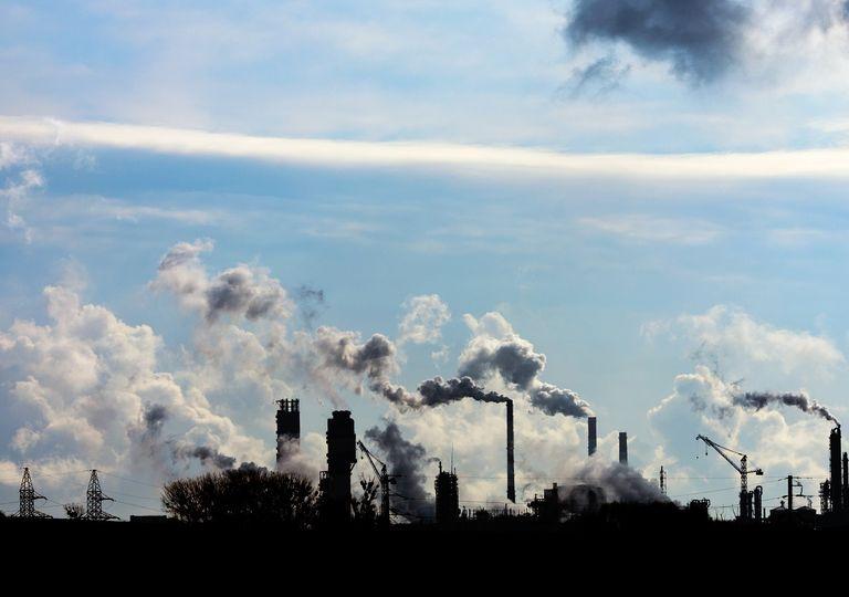 chimeneas; vapores; termoeléctricas