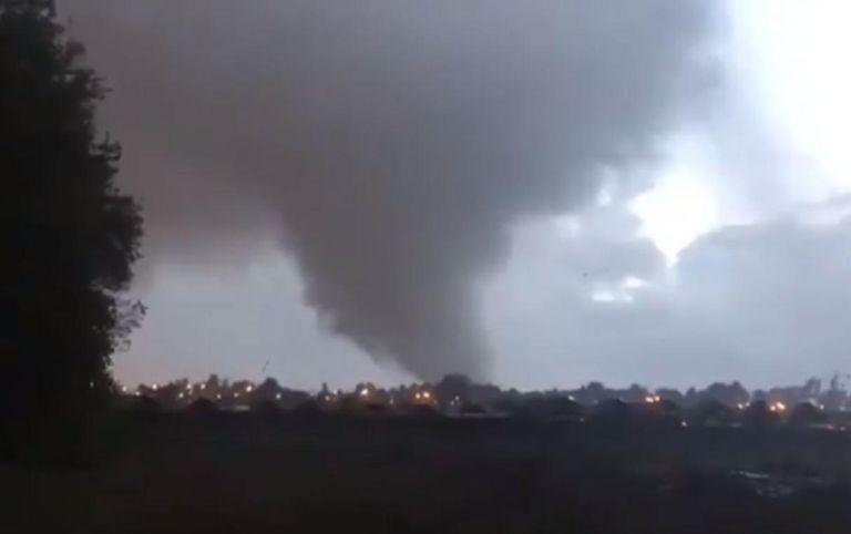 Tornado Chile. Los Angeles, Talcahuano y Concepción