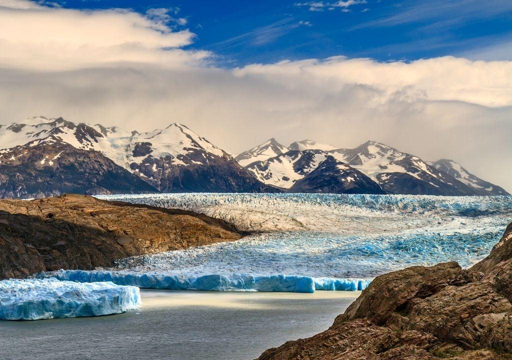 Glaciar; Patagonia; Chile