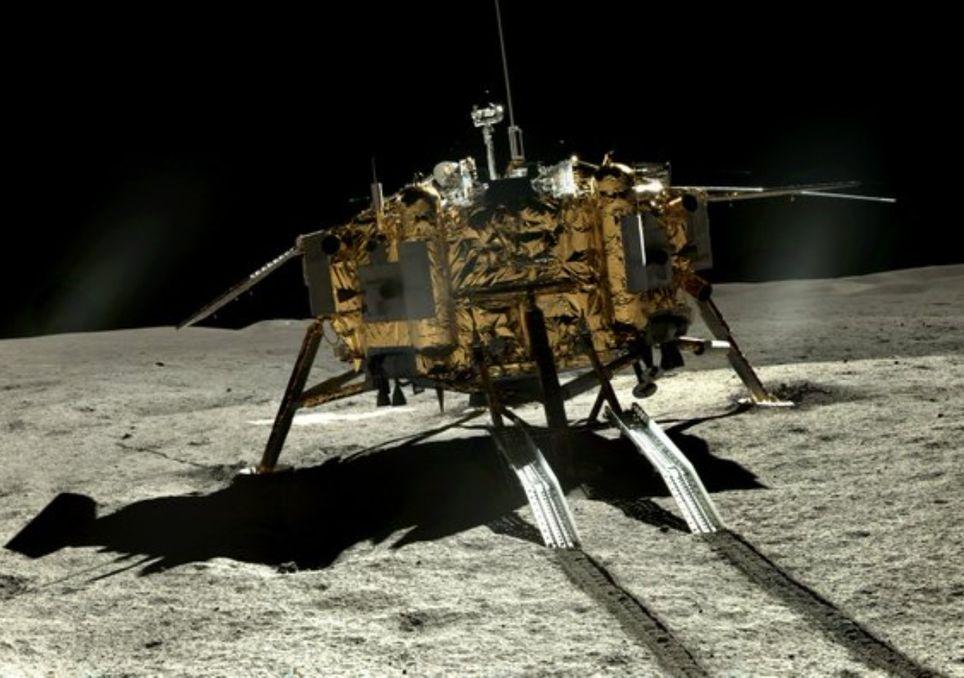 Chang'e-4 Luna China imagenes