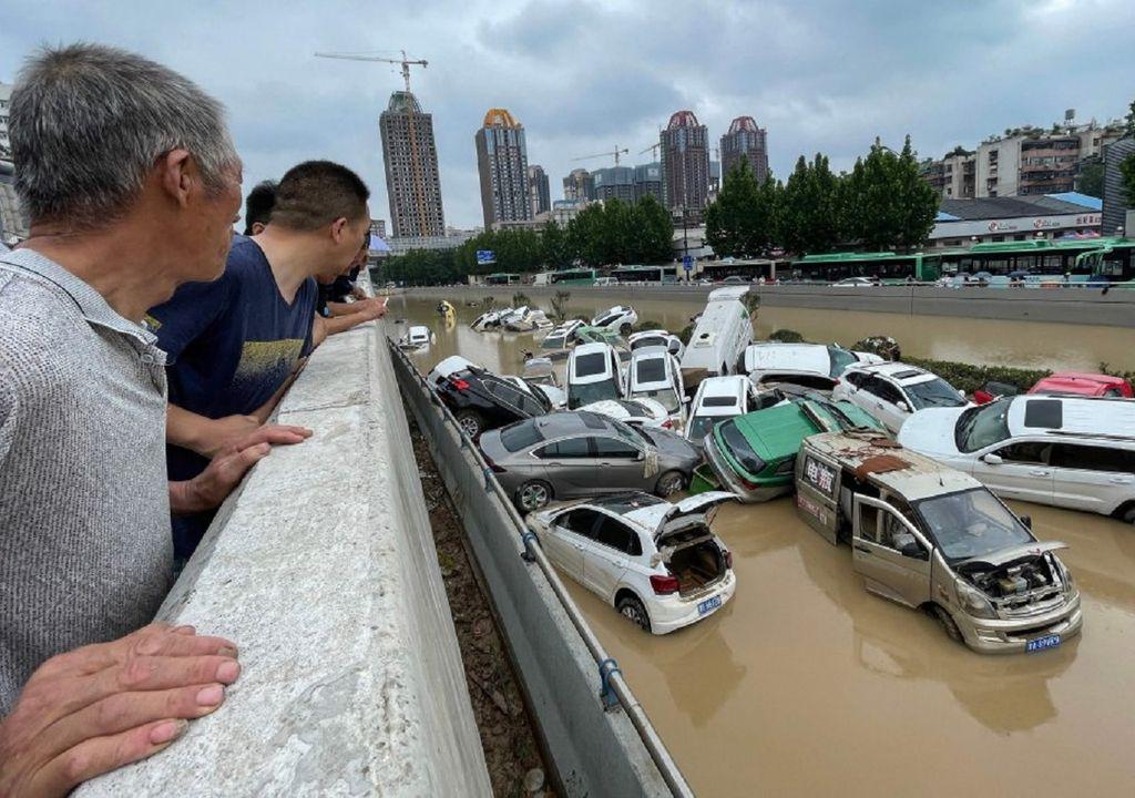 Se ha comentado que este tipo de lluvias no se habían registrado en al menos el último milenio. Fotografía: AFP