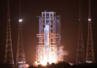 China lança missão espacial para trazer rochas lunares à Terra
