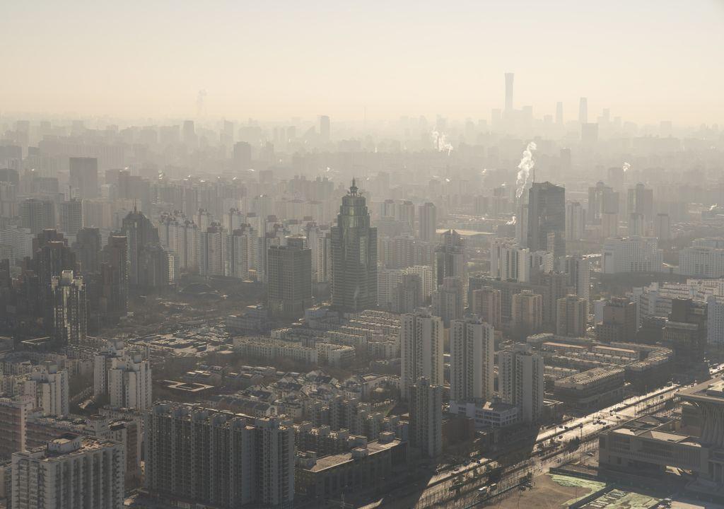 Pequim; China; poluição; chuva artificial
