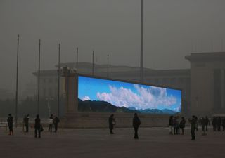 Proyecto chino pretende manipular el clima de forma masiva