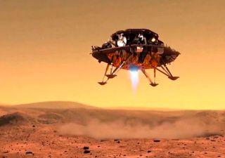 China pisa Marte con éxito