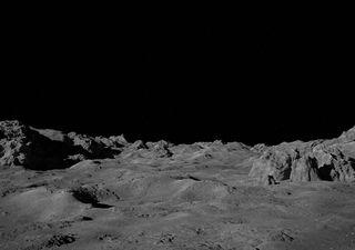 China revela novas imagens da superfície da Lua