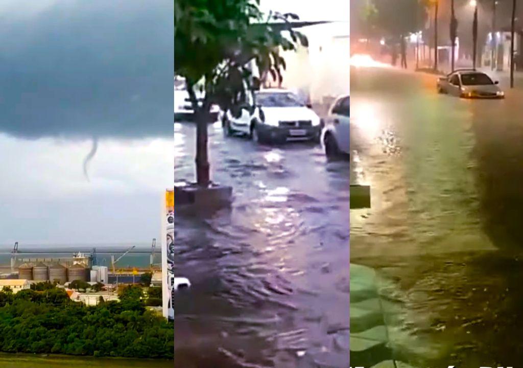 Chuvas alagam diversas cidades no Nordeste