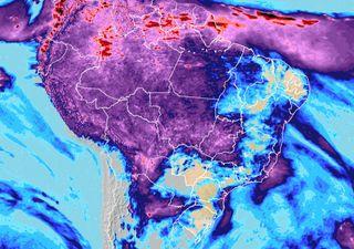 Chuvas continuam irregulares e ocorrem no centro-norte e leste do país