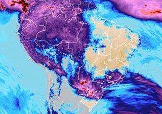 Chuvas e tempestades volta a ocorrer nas regiões Sul e Sudeste