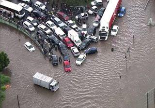 Chuvas geram caos no ABC Paulista