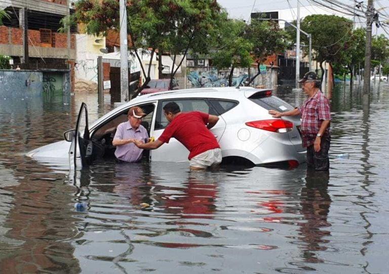 Chuvas no nordeste do Brasil causam transtornos no início do trimestre de março, abril e maio.
