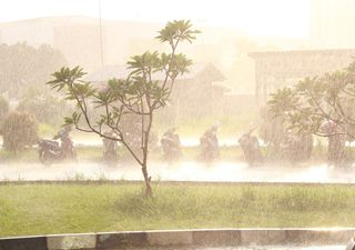 Chuvas volumosas e potencial para transtornos em todas as regiões