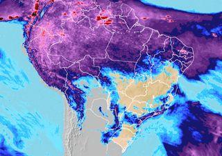 Chuvas volumosas no extremo norte e frio nas regiões Sul e Sudeste