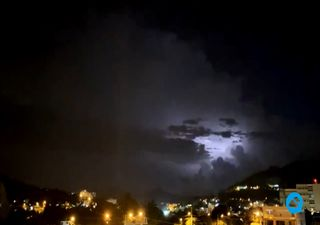 Krasses Video: Wirbelsturm erzeugt heftige Gewitter!