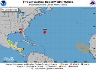 Ciclón tropical al sur de Canarias: más probable pero lejos de ellas