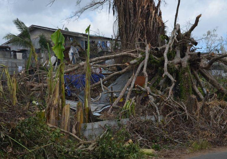 Estragos ciclone Vanuatu
