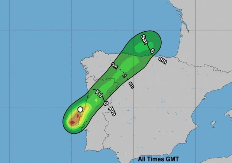Tempestade subtropical Alpha