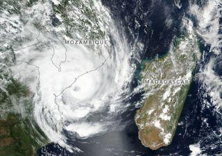 Ciclone tropical Eloise devasta Moçambique