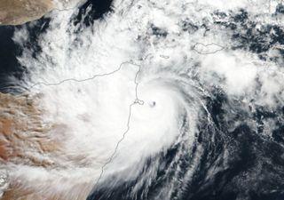 Ciclone tropical Gati atinge a Somália