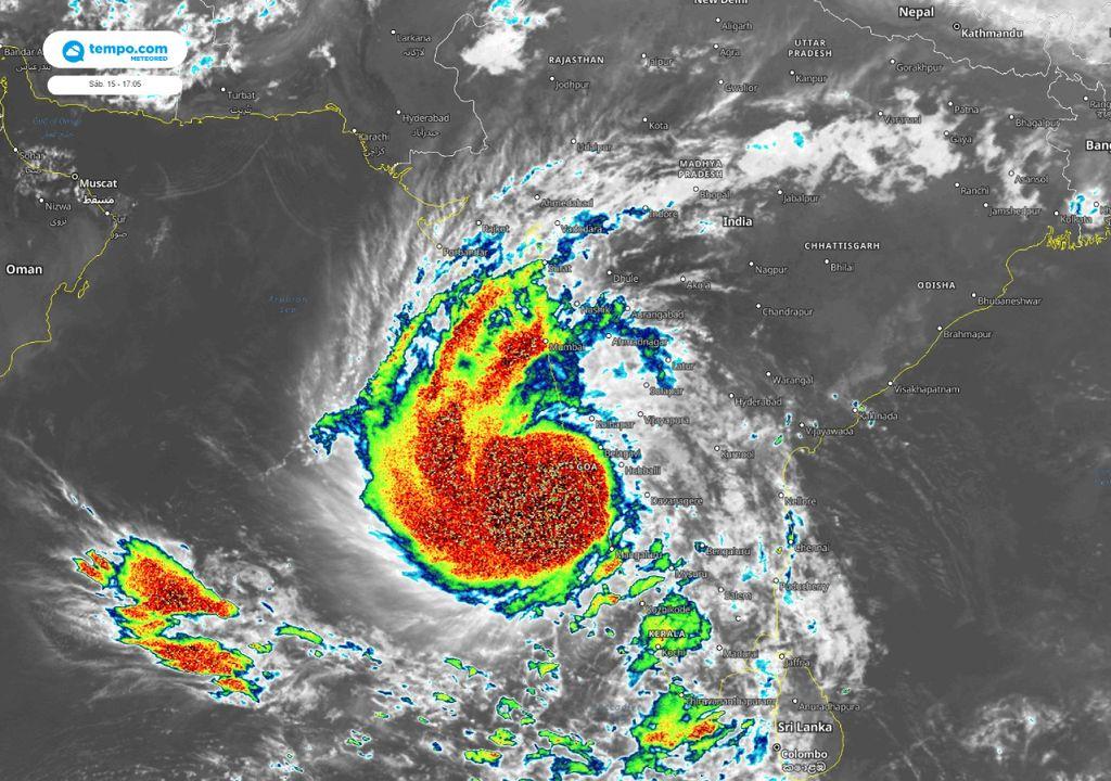 tempestade tropical Tauktae