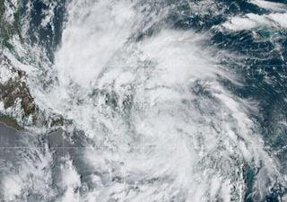 Ciclones tropicales afectando en México